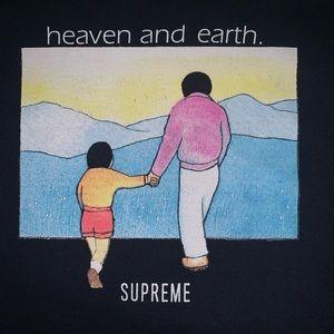 Heaven and Earth supreme tee